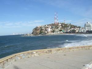 A beautiful city on the coast