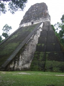 Another massive Tikal Temple