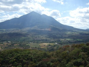 Volcano East of San Salvador