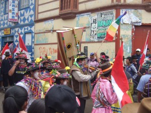 It's not quite the same scene as in Brazil, but the locals still know how to throw down for Carnival