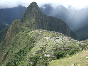 The cliche Machu Picch photo